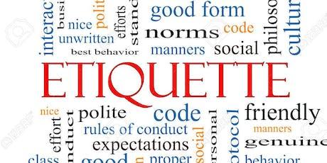 "Lets talk about ""Etiquette for Moms""!! tickets"