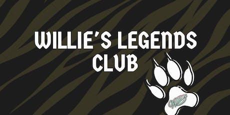 Willies Legends Club tickets