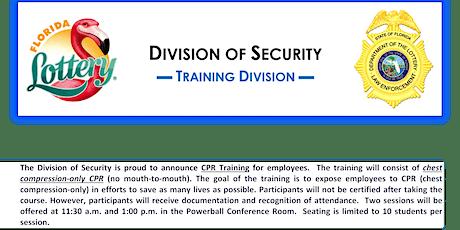 CPR Training (Non-Sworn) Session #32 tickets