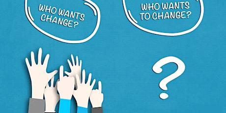 Change Management Classroom Training in Danville, VA tickets