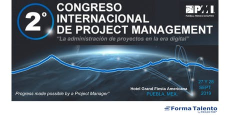 2 DO CONGRESO INTERNACIONAL DE PROJECT MANAGEMENT entradas