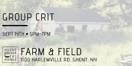 Group Crit at Farm & Field - September tickets