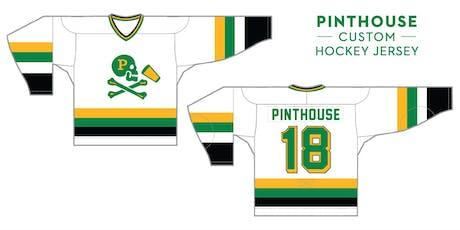 Pinthouse Pizza Custom Hockey Jerseys tickets