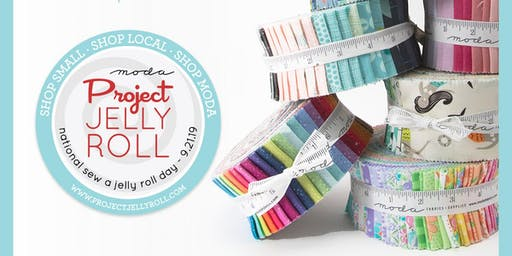 Celebrate National Sew a Jelly Roll Day with Annette and Courtenay