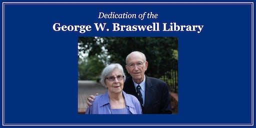George Braswell Dedication Day