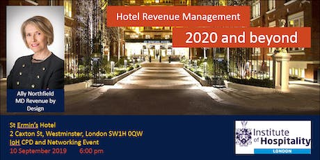 Hotel Revenue Management – the highs and lows & how to keep ahead in 2020+ tickets