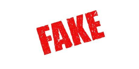Examination of Fraudulent Documents tickets