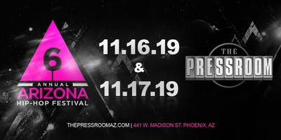 AZ HIPHOP FESTIVAL @ The Pressroom