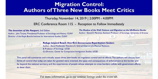 Migration Control: Authors of Three New Books Meet Critics