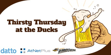 Thirsty Thursday at the Ducks  tickets