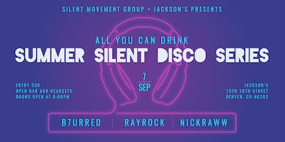 All You Can Drink Summer Silent Disco Series
