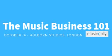 The Music Business 101- Oct 16 2019 tickets
