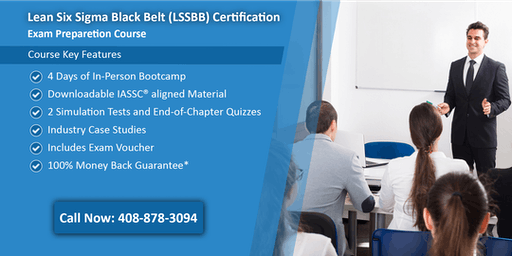 Lean Six Sigma Black Belt (LSSBB) Certification Training In Los Angeles, CA