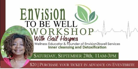 Envision To Be Well Workshop tickets