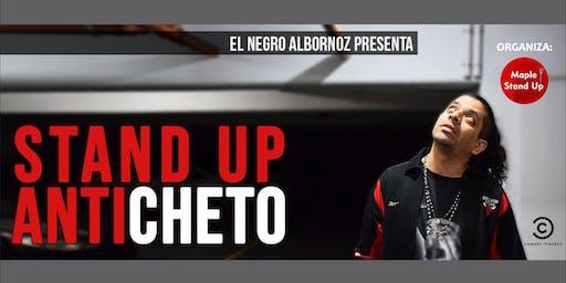 "Stand Up Anticheto | Cristian ""El Negro"" Albornoz en Mendoza"