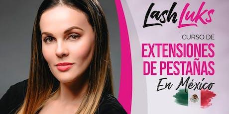 Curso de Extensiones de Pestañas - Ciudad Mexico tickets