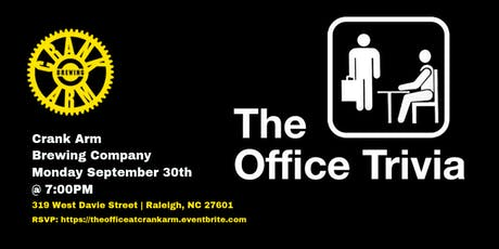 The Office Trivia at Crank Arm Brewing Company tickets