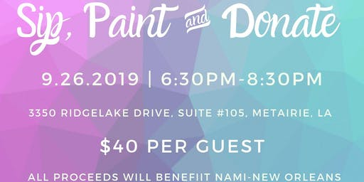 WCR Mixer: Sip, Paint & Donate
