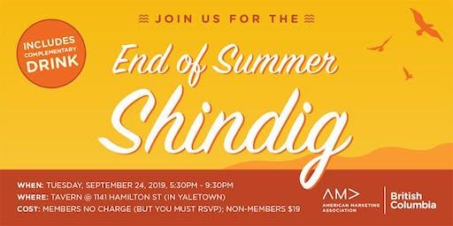 BCAMA End of Summer Shindig