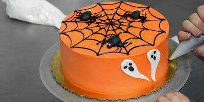 Halloween Cake Class