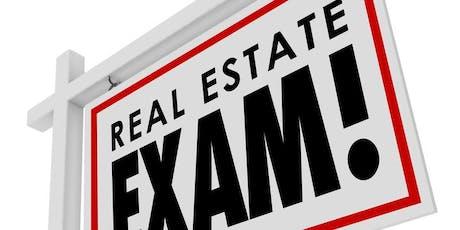 Real Estate Exam Cram Course tickets