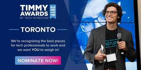 Toronto's 4th Annual Timmy Awards tickets