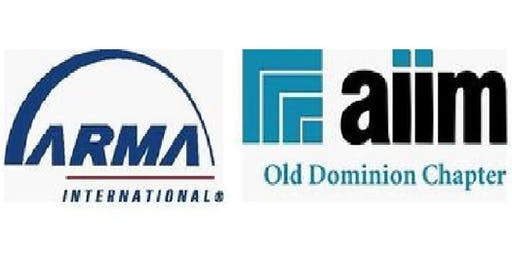 AIIM/ARMA Lunch and Learn - Wednesday September 11, 2019