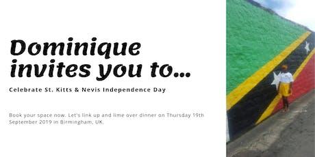 St. Kitts Nevis Independence Day Dinner Birmingham  tickets