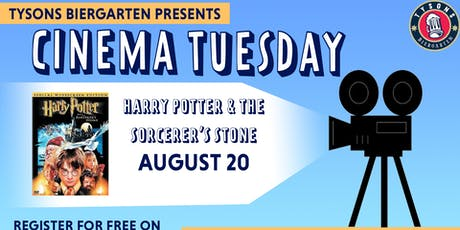 Cinema Tuesdays at Tysons Biergarten - Harry Potter and the Sorcerer's Stone  tickets