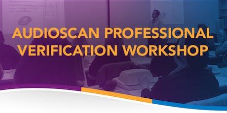 Audioscan Workshop - New York tickets