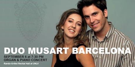 Duo MusArt Barcelona in Concert tickets