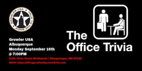 The Office Trivia at Growler USA Albuquerque tickets