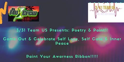 3/31 Team US Presents: Poetry & Paint