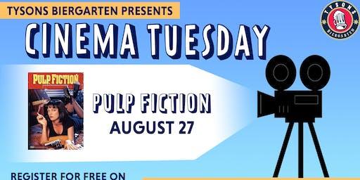 Cinema Tuesdays at Tysons Biergarten - Pulp Fiction