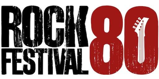 ROCK 80 FESTIVAL - Shopping Itaipú (18 a 20 de Outubro 2019).