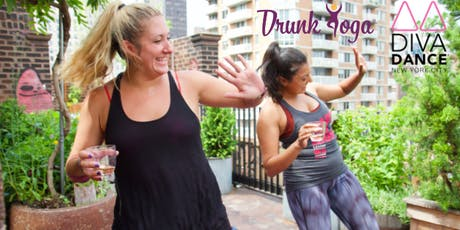 Sip N' Slay by Drunk Yoga® + Diva Dance® at Hotel on Rivington...FREE Wine!  tickets