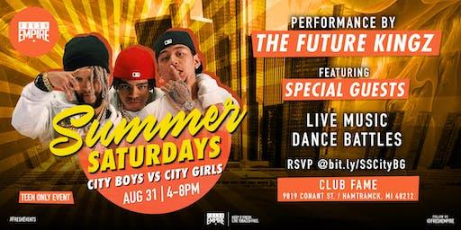 Summer Saturdays - City Boys vs City Girls - The Future Kingz