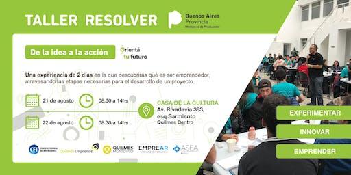 Taller Resolver - Quilmes
