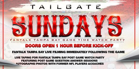 Tailgate Sundays Buc Watch Party tickets