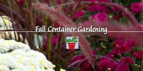 Fall Container Design tickets