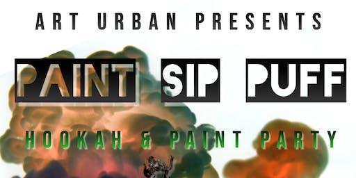 Paint [Hang] Sip & Puff I Hookah + Paint Party