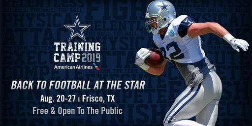 Back to Football at The Star in Frisco