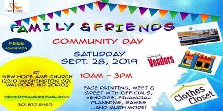 New Hope Family & Friends Community Day tickets