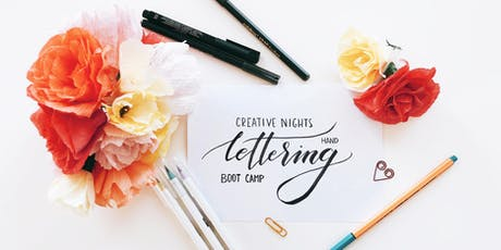 Handlettering Bootcamp Workshop by Creative Nights (Beginners) tickets