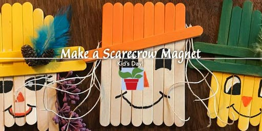 Kid's Day - Make a Scarecrow Magnet