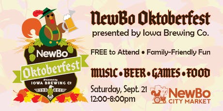 NewBo Oktoberfest presented by Iowa Brewing Company tickets