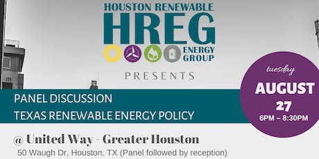 Texas Renewable Energy Policy - Panel Discussion tickets