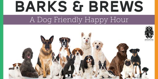 Barks & Brews: A Dog Friendly Happy Hour