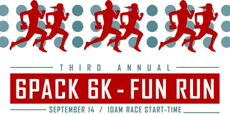 3rd Annual 6Pack 6K!! tickets