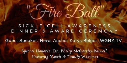 Fire Ball for Sickle Cell Awareness Dinner & Award Banquet